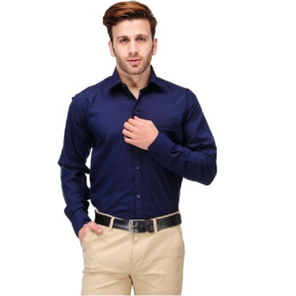 Koolpals Mens Solid Formal Shirt