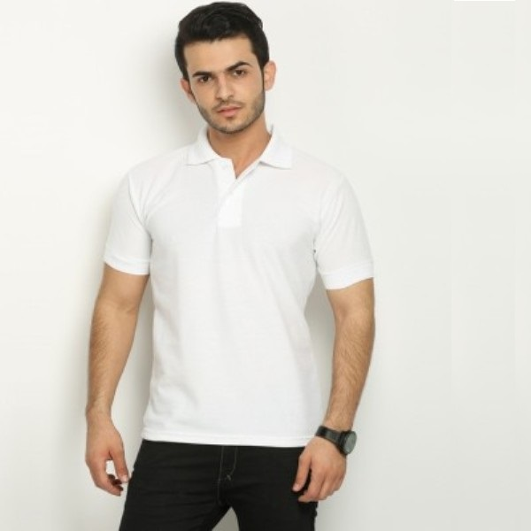 Solid Mens Polo T-Shirt