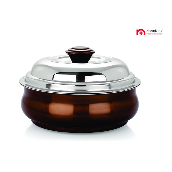 NanoNine Insulated Belly Serving Pot