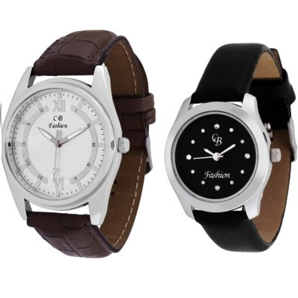 CB Fashion 101-125 Analog Watch - For Couple