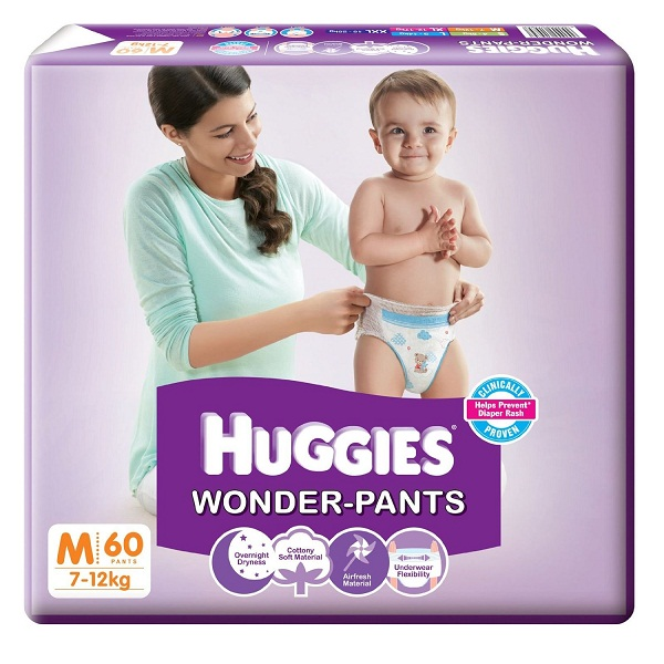 Huggies Wonder Pants 60 Count