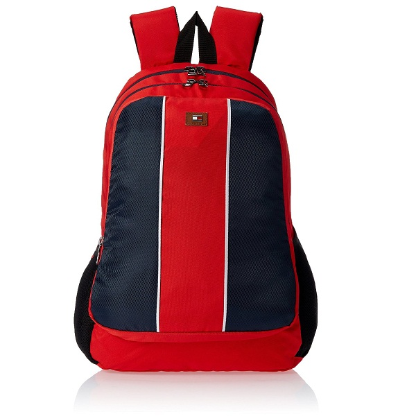 Tommy Hilfiger Beacon Polyester Red Childrens Backpack