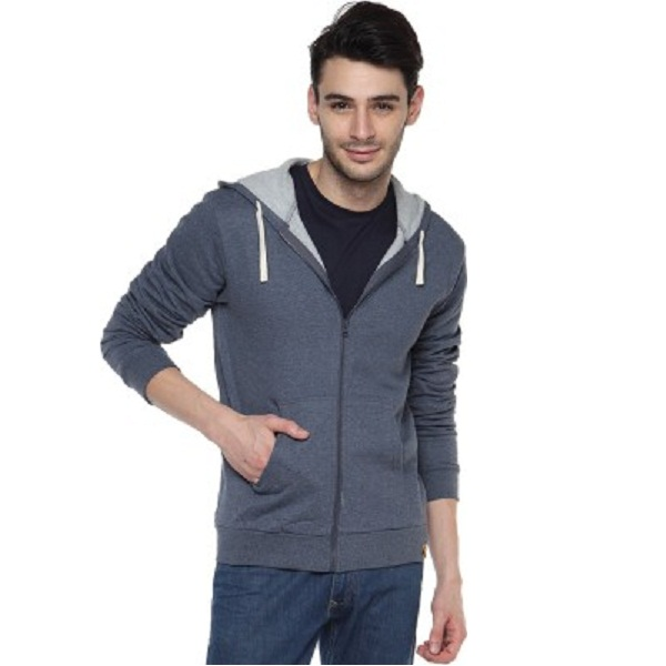 Campus Sutra Full Sleeve Solid Mens Sweatshirt