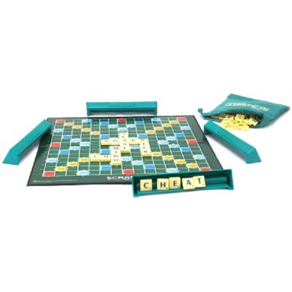 Mattel Scrabble Original Brand Crossword Board Game