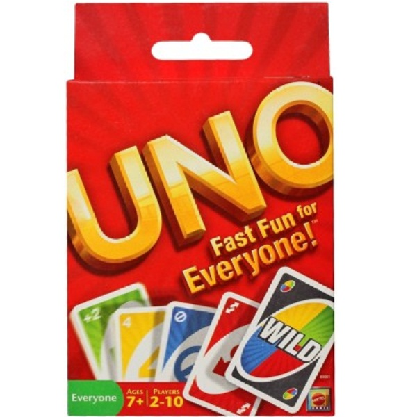 Mattel UNO Fast Fun for Everyone