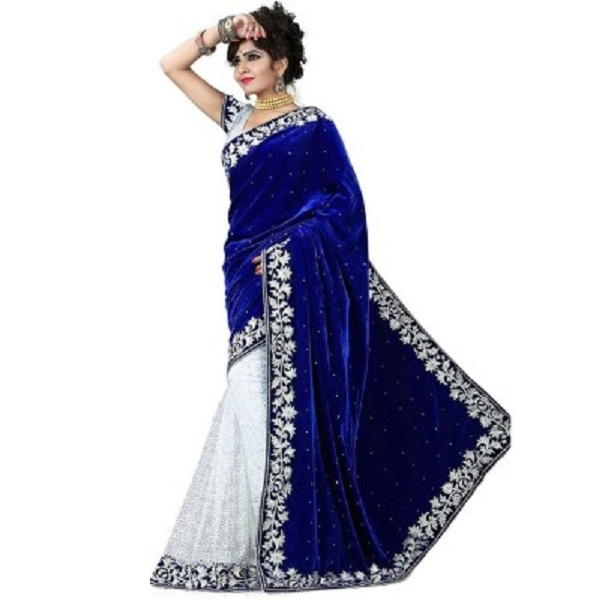 Leepsprints Velvet Sari