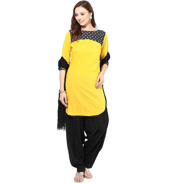 Jaipur Kurta Womens Straight Salwar Suit