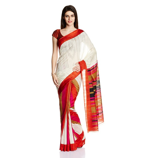 Satrang Saree with Blouse Piece