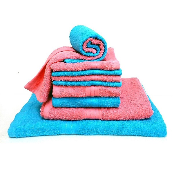 Bombay Dyeing Petal 10Pcs Cotton Towel Set
