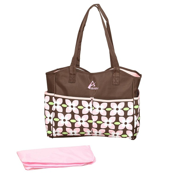 Advance Baby Flower Print Diaper Bag