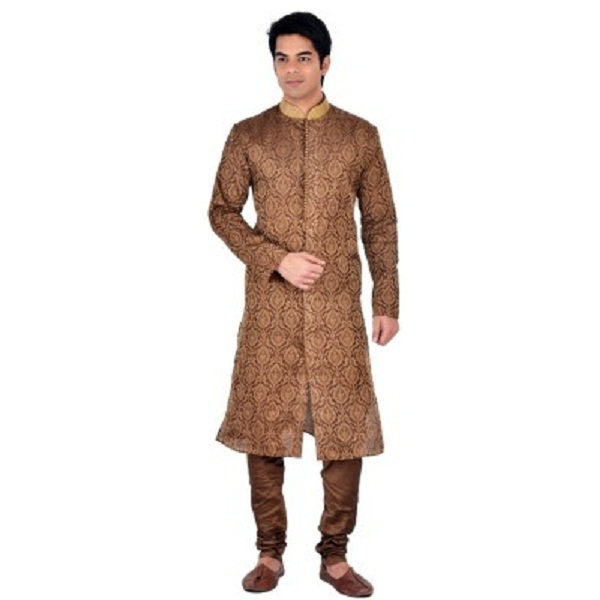 Sanwara Mens Kurta and Churidar Set