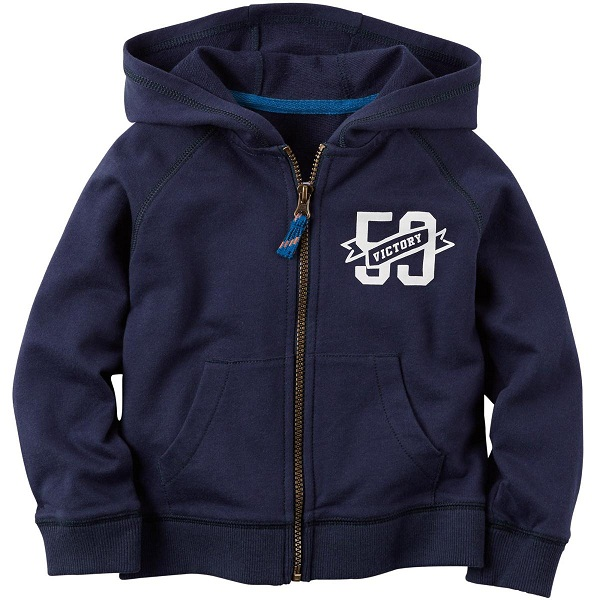 Carters Infant Boys Hooded Sweatshirt