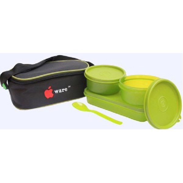 Appleware 33 3 Containers Lunch Box