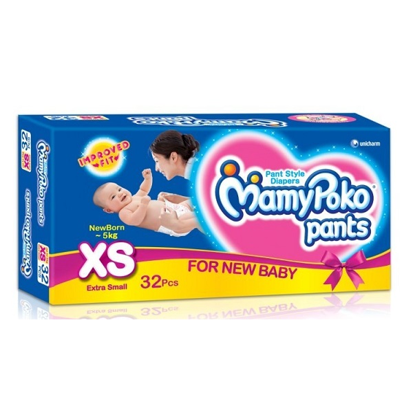 Mamy Poko Pant Style Diapers 32Count