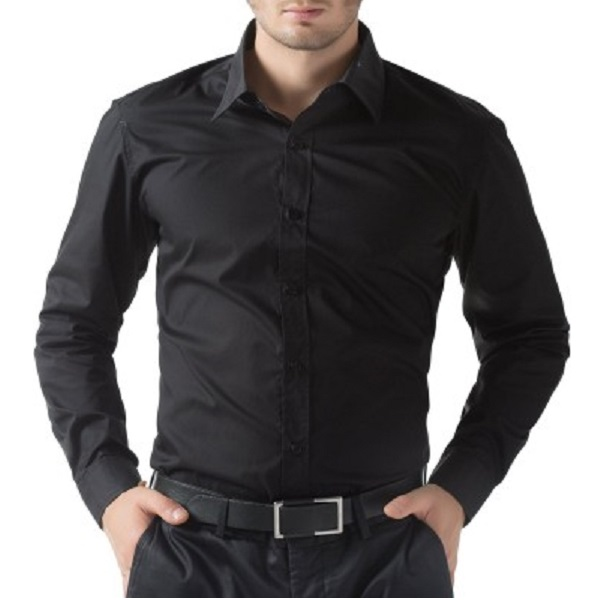 Being Fab Mens Solid Casual Shirt