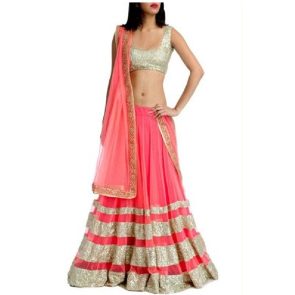 Muun Self Design Womens Lehenga Choli