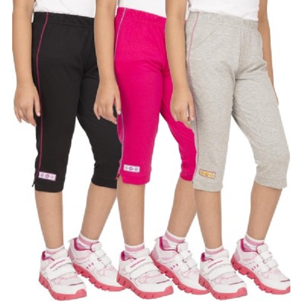 Ocean Race Fashion Girls Capri Combo