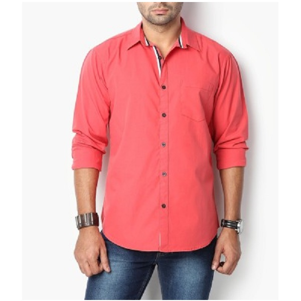 Suspense Mens Solid Casual Shirt