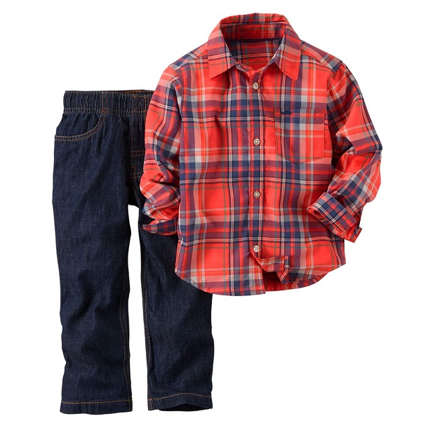 Carters Infant Boys Shirt Pant Set