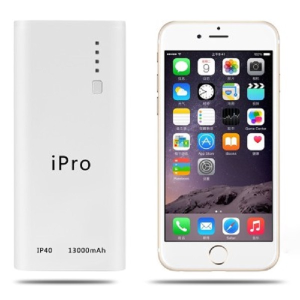 iPro iP40 Portable Powerbank 13000 mAh