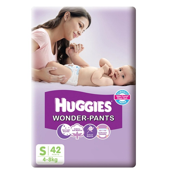 Huggies Wonder Pants Small 42 Piece
