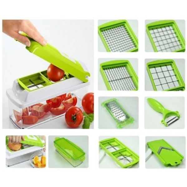 Globalepartner All in one Vegetable fruit Slicer Chopper