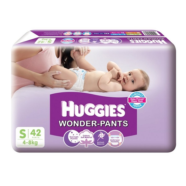 Huggies Small Size Wonder Pants 42 Count