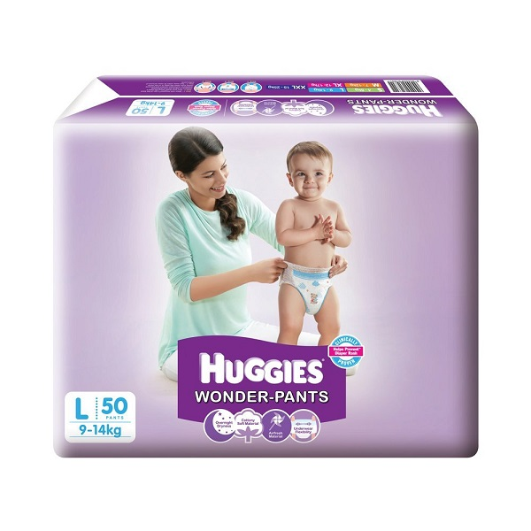 Huggies Large Size Wonder Pants 50 Count