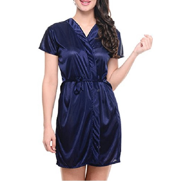 Klamotten Womens Satin NightDress