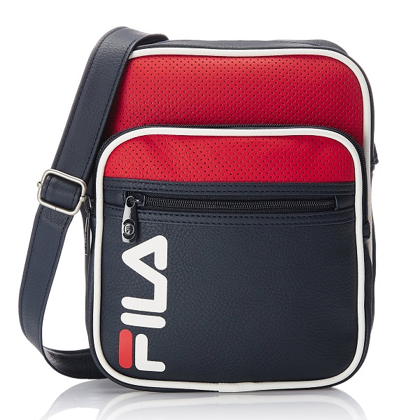 Fila Synthetic Peacoat Messenger Bag
