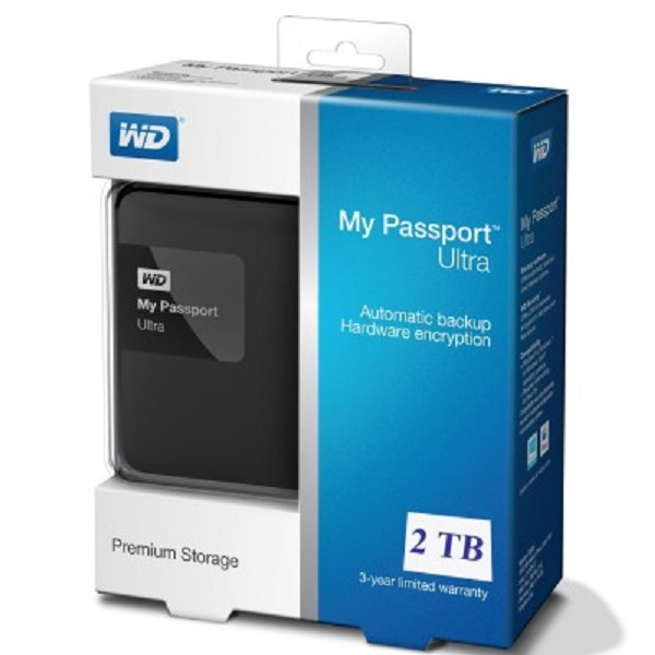 Western Digital 2 TB Wired External Hard Drive