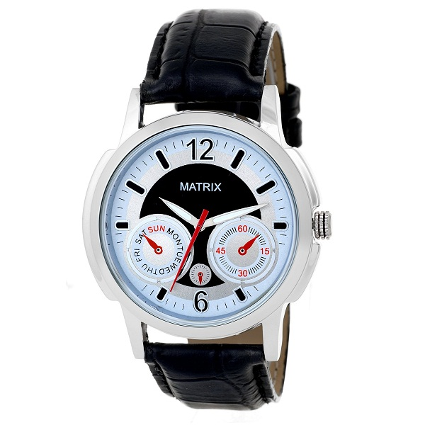 Matrix Analog Multi Color Dial Mens Watch