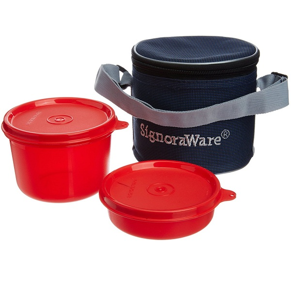 Signoraware Executive Small Lunch Box with Bag