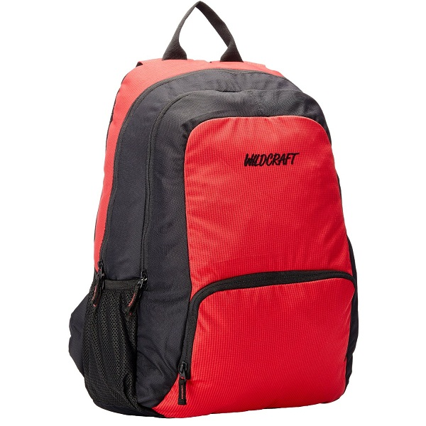 Wildcraft Neptune Polyester Red Casual Backpack