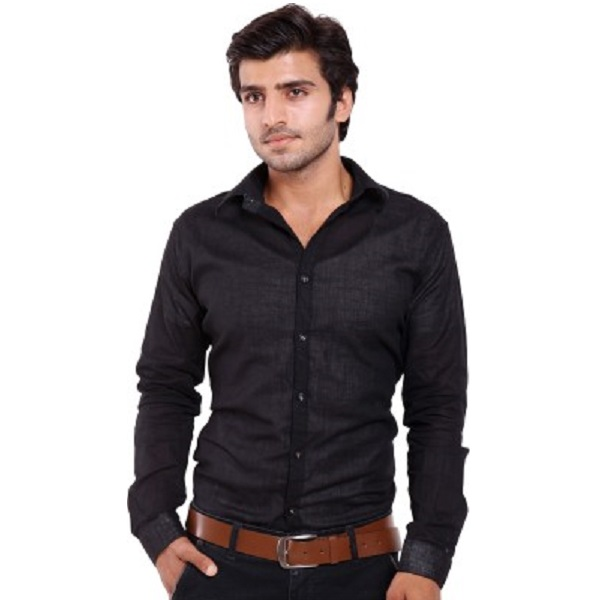 Deeksha Mens Solid Casual Shirt