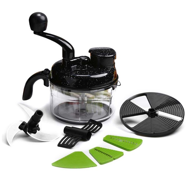 Wonderchef Turbo Dual Speed Food Processor with Free Knife and Peeler