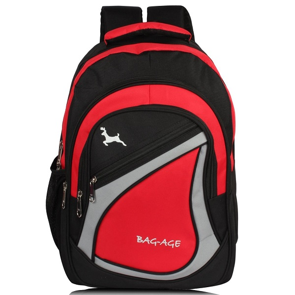 Bag Age Spicy Large Red School Backpack