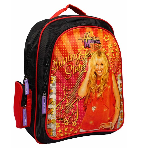 Disney Red And Black Hannah Montana Bag