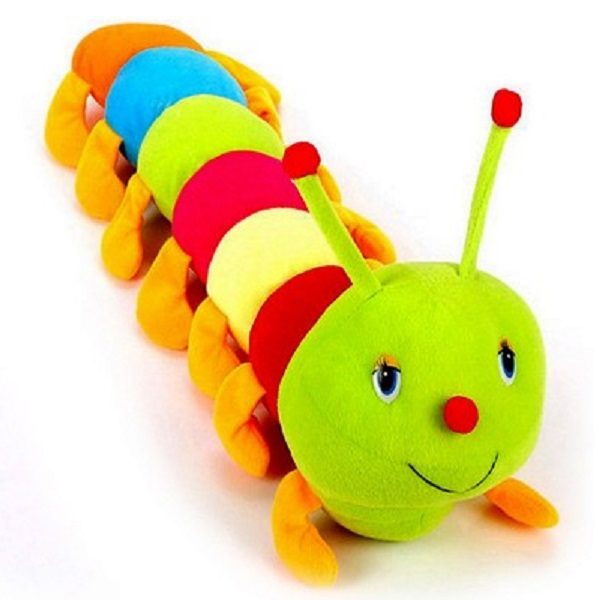 Ewi Smile Adorable beautiful colorful Caterpillar soft toy
