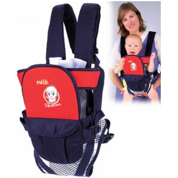 Farlin Baby Carrier Netting Bluish Red