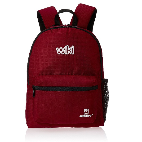 Wildcraft 14 ltr Red Casual Backpack