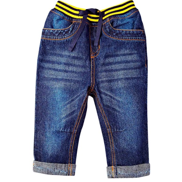 Mom And Me Infant Boys Jeans With Rib