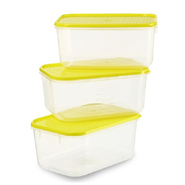 All Time Plastics Polka Container Set of 3
