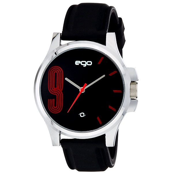 Maxima Ego Analog Black Dial Mens Watch