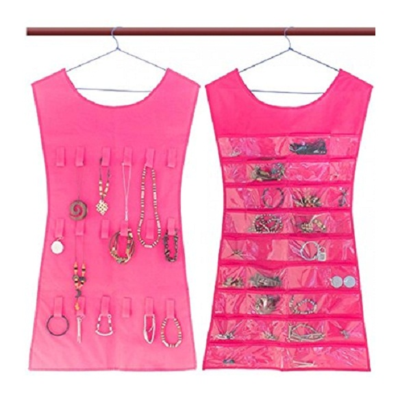 KRIO Designs PINK Color Jewelery Organizer