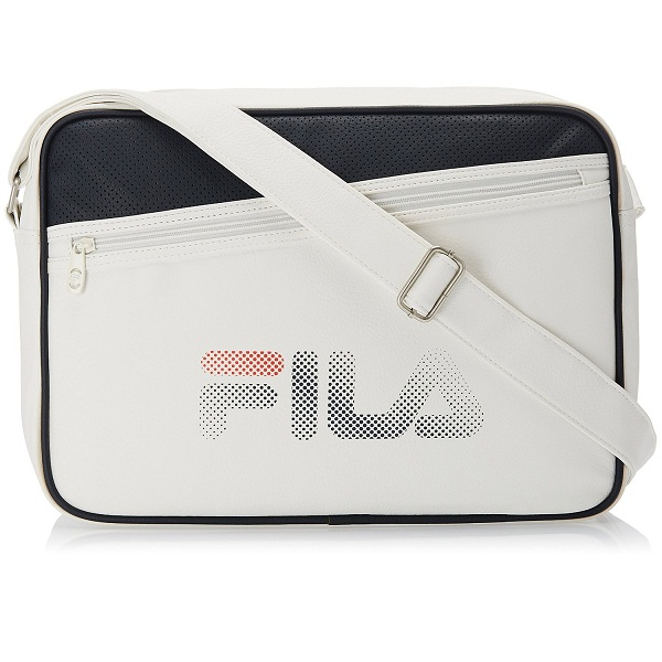 Fila Synthetic White Messenger Bag