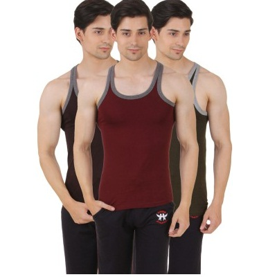 Hap Sports Mens Vest Pack Of 3