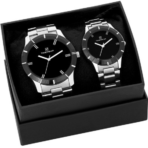 H Timewear Couple Analog Watch