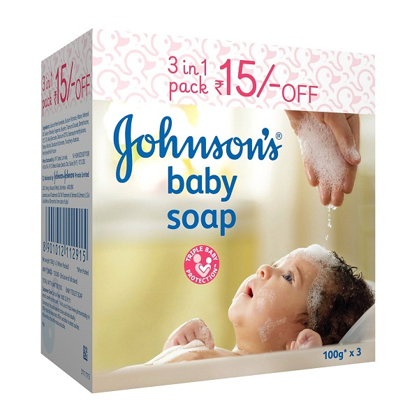 Johnsons Baby Soap 3 In 1 Pack