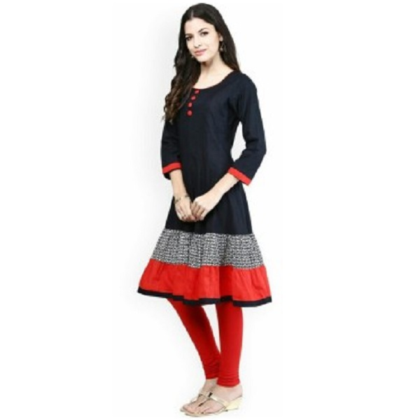 AnjuShree Choice Casual Solid Womens Kurti
